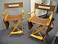 The Prop Store of London - LA - Rutger Hauer and Harrison Ford chairs from Blade Runner (6300929083).jpg