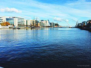 Dublin quays - Image: The Quays, Dublin.