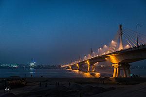 Shah Amanat Bridge - Image: The Shah Amanat Bridge