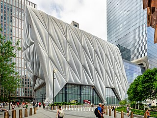 The Shed (arts center) Cultural center in New York, NY