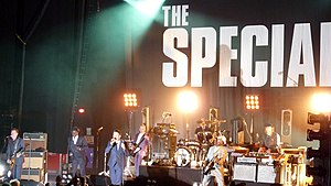 The Specials - The Specials performing at Brixton Academy, London, May 2009 as part of their 30th anniversary tour.