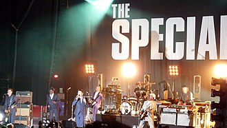 The Specials - The Specials performing at Brixton Academy, London, May 2009 as part of their 30th anniversary tour