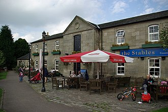 Glasgow Bridge, Kirkintilloch - The Stables - pub and restaurant