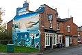 The Talbot Inn and mural, Rushmore Street, Leamington Spa - geograph.org.uk - 1576907.jpg