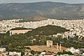 The Temple of Zeus, Ardettus Hill and Mount Hymettus from the Acropolis on May 19, 2020.jpg