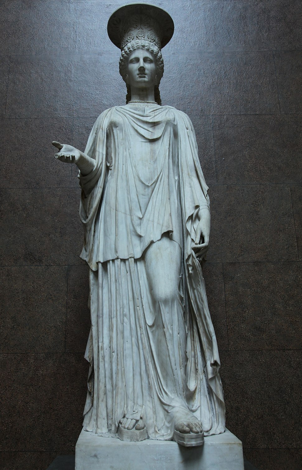 The Townley Caryatid (anterior)