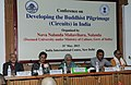 The Union Minister for Culture, Smt. Chandresh Kumari Katoch addressing at the inauguration of the Conference on Developing the Buddhist Pilgrimage (Circuit) in India, in New Delhi on May 31, 2013.jpg