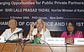 The Union Minister for Railways Shri Lalu Prasad addressing a Conference on Reforms in Indian Railways Leading Change and Transformation and Emerging Opportunities for Public-Private Partnership, in New Delhi.jpg