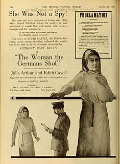 <i>The Woman the Germans Shot</i> 1918 film by John G. Adolfi