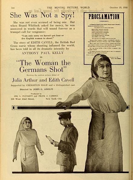 Advertisement for The Woman the Germans Shot The Woman the Germans Shot.jpg