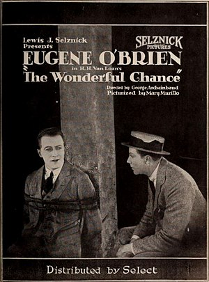 The Wonderful Chance - 1922 Advertisement