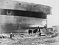 The building of the Great Eastern, a view of the stern and propeller..jpg