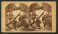 The cascade, Pikes Peak Trail, from Robert N. Dennis collection of stereoscopic views.png