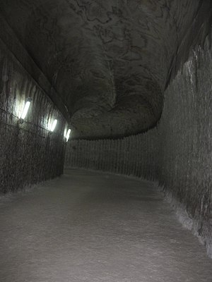 Soledar - Image: The entry way to the mine