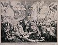 The massacre of the Greeks by the Turks in Patrasso; Greek w Wellcome V0041602.jpg