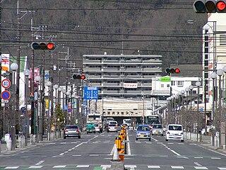 Ibara City in Chūgoku, Japan