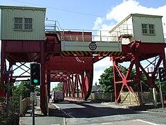 The swing bridge - geograph.org.uk - 860105