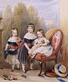 The three eldest children of Frederick John Howard (1814-1897) and Lady Fanny Cavendish, by Robert Dowling (1827-1886).jpg
