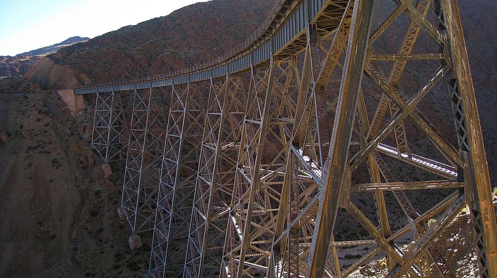 The viaduct La Polvorilla, Salta Argentina