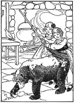 Blanche Neige Et Rose Rouge Vikidia L Encyclopedie Des 8 13 Ans