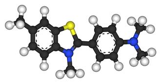 Thioflavin - Image: Thioflavin T 3D balls