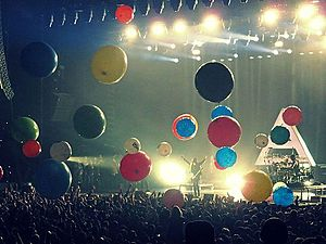 """Conquistador (Thirty Seconds to Mars song) - Thirty Seconds to Mars performing """"Conquistador"""" in Rosemont, Illinois in December 2013"""