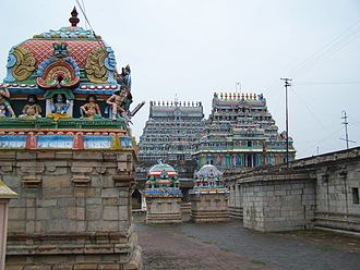 Thiruvarur - Image: Thiruvarur Temple Inside