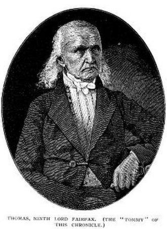 Thomas Fairfax, 9th Lord Fairfax of Cameron - Image: Thomas Fairfax 00309