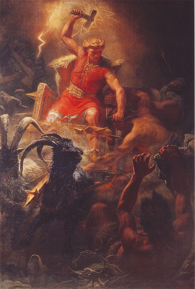 Dondergod Thor gaf zijn naam aan een dag van de week