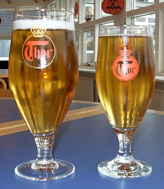 Randers - Thor, a beer brand associated with the city of Randers.