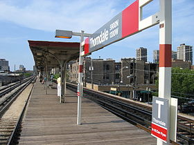 La station Thorndale