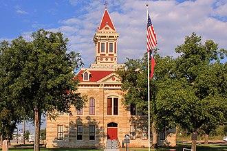 Throckmorton County, Texas - Image: Throckmorton County Texas Courthouse 2015
