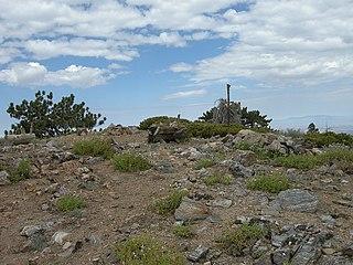Throop Peak mountain in United States of America