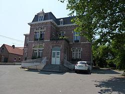 Thumeries (Nord, Fr) mairie.JPG