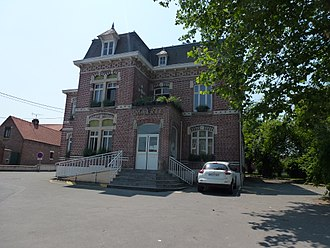 Thumeries - Image: Thumeries (Nord, Fr) mairie