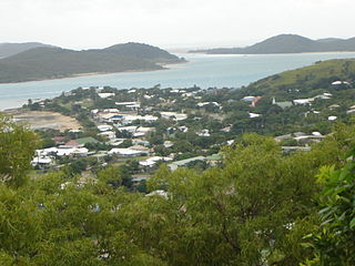 Thursday Island Town in Queensland, Australia