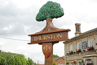Thurston, Suffolk village in United Kingdom