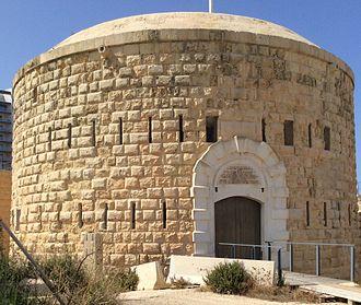 Fort Tigné - The circular keep