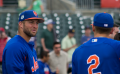Tim Tebow, Gavin Cecchini, batting practice 1.png