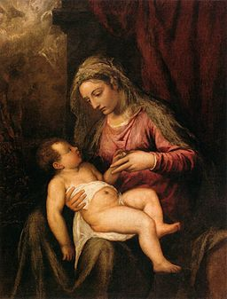 Titian - Virgin and Child - WGA22835
