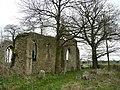Tivetshall St. Mary church ruin 4 - geograph.org.uk - 741715.jpg