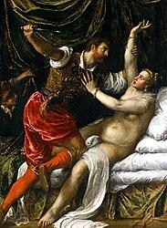 Titian: Tarquin and Lucretia
