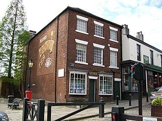 Rochdale Principles - The original Toad Lane Store in Rochdale, United Kingdom.