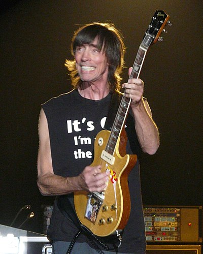 Tom Scholz, the band's founder, lead guitarist, and organist TomScholz.JPG
