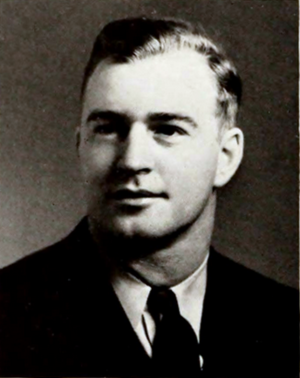 Tom Rogers (American football) - Rogers at Clemson in 1941