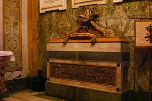 Maria Cristina of Savoy - Tomb of Blessed Maria Cristina in Santa Chiara (Naples)