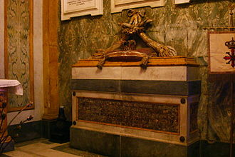 Maria Cristina of Savoy - Tomb of Blessed Maria Cristina in Santa Chiara (Naples)