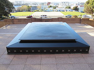 National War Memorial (New Zealand) - The Tomb in 2012