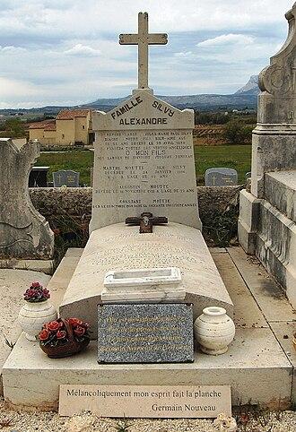 Germain Nouveau - Tomb in Pourrières