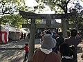 Torii of Sakamoto Hachiman Shrine.jpg
